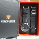 Harga Reddington Original Watch Jam Tangan Pria Leather Strap Genuine Bonus Canvas Strap Reddington Ori