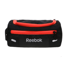 Diskon Reebok Voyager Toiletries Bag Black Neon Cherry