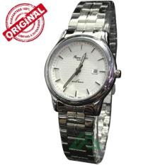 Reene Ricci Feminim D34H310RR3218LSLVP Date Jam Tangan Wanita Stainless Steel Chain ( Silver )