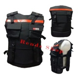 Beli Rends Rompi Motor Bikers Alas Dada Touring Ala Densus 88 Body Protector Orange Baru