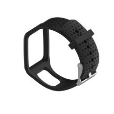 Penggantian Tali Pita Silikon untuk Tomtom Multi Sport/Cardio GPS Watch BK-Intl