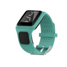 Penggantian Tali Pita Silikon untuk Tomtom Multi Sport/Cardio GPS Watch GN-Intl