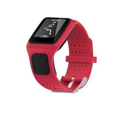 Penggantian Tali Pita Silikon untuk Tomtom Runner Cardio Sport GPS Watch RD-Intl