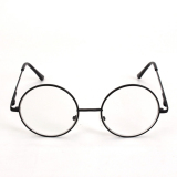 Jual Retro Hitam Mode Bulat Berbingkai Logam Bingkai Kacamata Baca Kacamata Adapula 2 5 Indonesia Murah