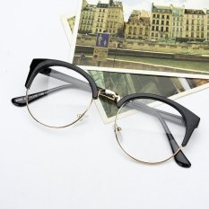 Dimana Beli Gaya Retro Wanita Pria Nerd Kacamata Bening Lensa Kacamata Bingkai Logam Bulat Kacamata Oem