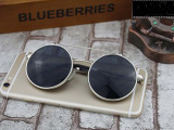 Promo Retro Vintage Round Flip Up Sunglasses Circle Clip On Sunglasses Metal Sun Glasses Silver Akhir Tahun