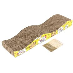 Jual Rhs Cat Kitten Pet Menggaruk Corrugated Board Scratcher Post Kutub Bed Pad Matt Mainan Internasional Grosir