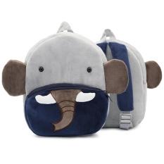 RHS Online 2-4 Tahun Tua Cute Animal Design Plush Tas Sekolah untuk Anak-anak Prasekolah TK-Intl