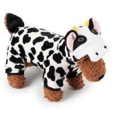 RHS Online Sapi Hoodie Anjing Peliharaan Kostum Pakaian Peliharaan Mantel Sweter Ukuran XS-Internasional