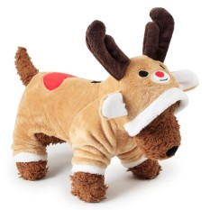 RHS Online Rusa Hoodie Anjing Peliharaan Kostum Pakaian Peliharaan Mantel Sweter Ukuran XS-Internasional