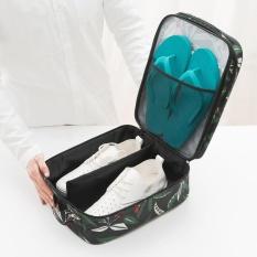 RHS Online Fashion Outdoor Waterproof Travel Shoes Storage Organiser Bag(Black) - intl