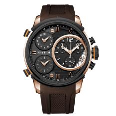 Beli Rhythm Jam Tangan Wanita Time Chaser Collection Silver Leather I1502R04 Seken