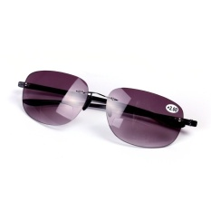 Tanpa Bingkai Kacamata Baca Bifocal Polarized Sunglasses 1 5 Tiongkok Diskon