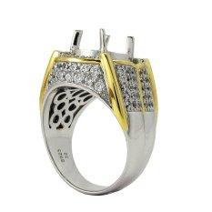 Ring Emban Cincin Perak Hongkong Kadar 925 (150617)
