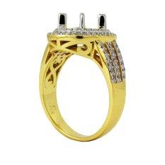 Ring Emban Cincin Perak Hongkong Kadar 925 (150620)