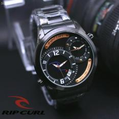 Jam tangan Pria Rcp 1109 ( Ripcurl ) Design Exclusif Leather Strap Dual TimeIDR255000. Rp