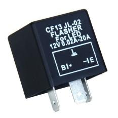 RIS Tiga Pin Car LED Berkedip Flasher Relay untuk Turn Signal-Intl