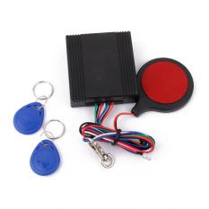 RIS Sepeda Motor IC Kartu Alarm Induksi Tak Terlihat Lock Immobilizer Kunci