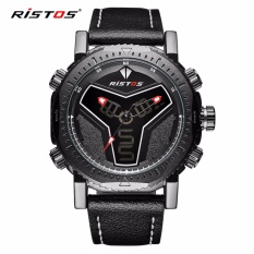 Jual Ristos Jam Tangan Pria Sport Waterproof Analog Quartz Sports Led Digital Multifungsi Tahan Air Sports Men Watch 9341 Longbo