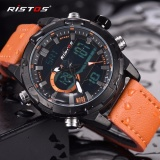 Ristos Jam Tangan Pria Sport Waterproof Analog Quartz Sports Led Digital Multifungsi Tahan Air Sports Men Watch 9342 Intl Longbo Diskon