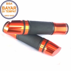 Spesifikasi Rizoma Grip Motor Cnc Tipe D Handgrip Universal Untuk Semua Motor Merah Baru