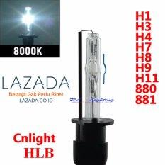 1bh Bohlam Bulb Lampu HID CnLight H1 HLB 8000k - Putih Kebiruan