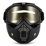 Jual Robesbon Mt 009 Motorcycle Goggles With Detachable Mask And Mouth Filter Harley Style Protect Padding Helmet Sunglasses Intl Online