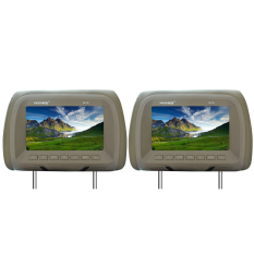 Harga Rockbox Rb 729 7 Headrest Monitor Beige Rockbox Asli