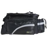 Diskon Tas Rockbros Warna Hitam Yang Dapat Digunakan Untuk Menyimpan Sejumlah Perlengkapan And Diletakkan Back Of His Sepeda