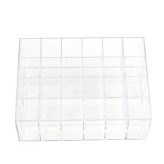 Spesifikasi Romantis Acrylic Lipstik Kosmetik 24 Stand Kotak Rias Kotak Penyimpanan Organizer Baru