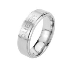 Romantis KING Ring QUEEN Ring untuk Pecinta Beberapa Cincin Fashion Hadiah Mencintaimu Stainless Steel Ring-Intl