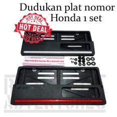 Romusha Dudukan Plat Nomor Motor Honda 1 set