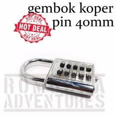 Romusha Gembok Koper Pin 40mm By Romusha Adventure.