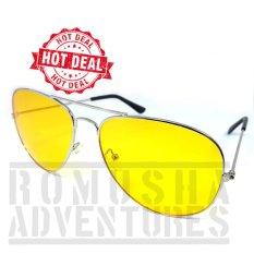 Romusha Night View Sun Glasses   Kacamata Malam Anti Silau   Night Vision 21b7f925a2