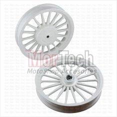 Spesifikasi Rossi Velg Pelek Racing Mio J 110 Cc Galaxy Venom Tapak Lebar Palang 18 Putih 14 185 14 215 Vrossi