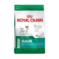 Harga Makanan Anjing Royal Canin Mini *d*lt 4 Kg Asli