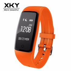 Harga S1 Bluetooth Smart Gelang Tahan Air Olahraga Pedometer Tidur Kesehatan Monitor Bluetooth Smartphone Watch Hitam Hijau Oranye Biru Ungu Lengkap