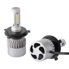 Toko Jual S2 Csp Cree 600 W H4 Led Headlight Kit Mobil Lampu Bohlam Lampu Mengemudi 6500 K Intl