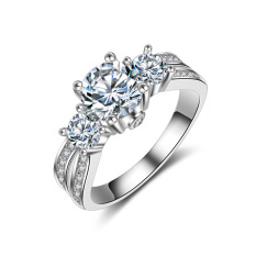 S925 perak murni Platinum berlebihan Retro Cincin Eropa Timur Tengah Negara laris ornamen glamor Model Wanita Cincin berlian
