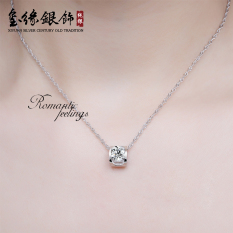 Harga Kalung Sterling Silver Liontin S925 Perempuan Fortun Leave Oem