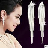 Harga S925 Shishang Rumbai Style Hypoallergenic Anting Perak Sterling Akupunktur Telinga Di Tiongkok