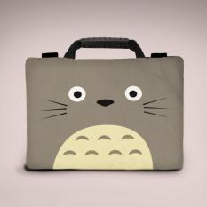 Sablon Totoro Art 11-12 Inchi softcase Tas/Bag sarung laptop Macbook Notebook Keren Elegant