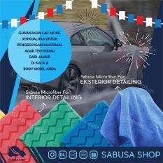 Beli Sabusa Lap Microfiber Khusus Mobil Ukuran 40×40Cm Lap Pembersih Mobil Microfibre Detailing Cloth Premium Quality Terbaru