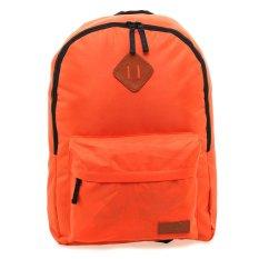 Harga Saco Scs003 Tas Ransel Kasual Oranye Asli Saco