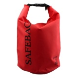 Spesifikasi Safebag Outdoor Drifting Waterproof Bucket Dry Bag 5 Liter Merah Terbaru