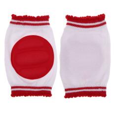 Bantal Pengaman Bayi Balita Merayap Siku Bantalan Pelindung Lutut Bayi Merah & #45; Internasional