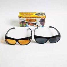 SAGADIJU Kacamata HD Vision Pelindung Sinar UV