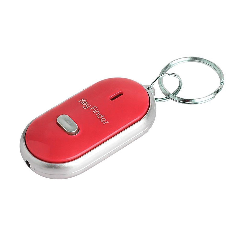 Saige Gantungan Kunci Siul - Key Finder + On/Off - Merah
