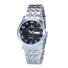 Review Saint Costie Jam Tangan Wanita Body Silver Black Dial Stainless Steel Band Sc Rt 5399L Sb