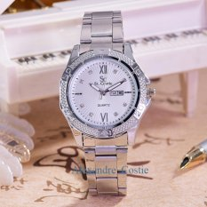 Review Saint Costie Jam Tangan Wanita Body Silver White Dial Sc Rt 5759B T H Sw Stainless Stell Band Saint Costie Di Dki Jakarta
